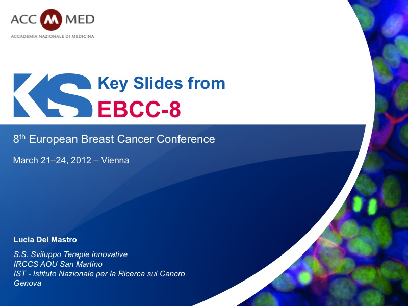 European breast cancer conference 6th